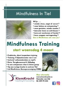 Mindfulness Training 4-3-2020